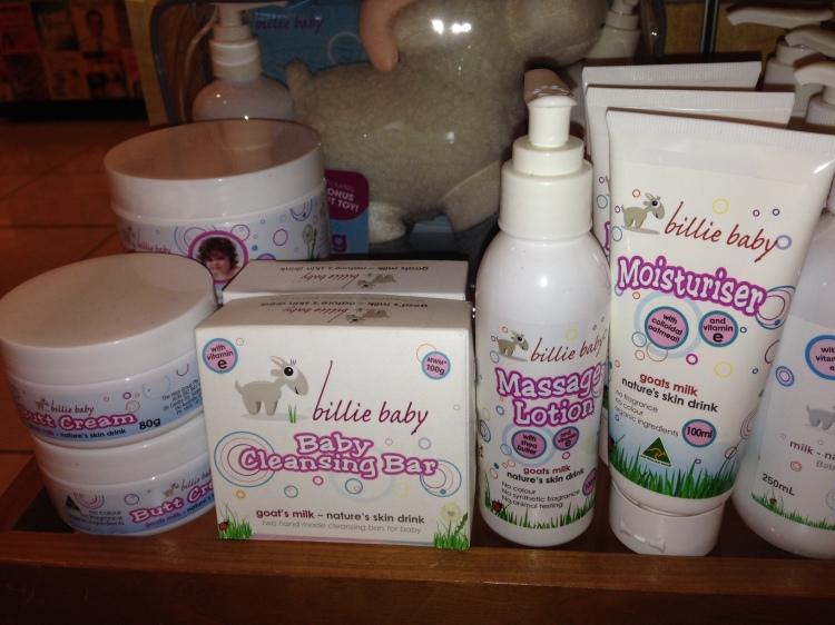 Billie Goat Soap Billie Baby Range