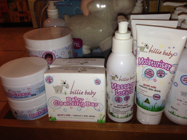 Billie Goat Soap Billie Baby Range