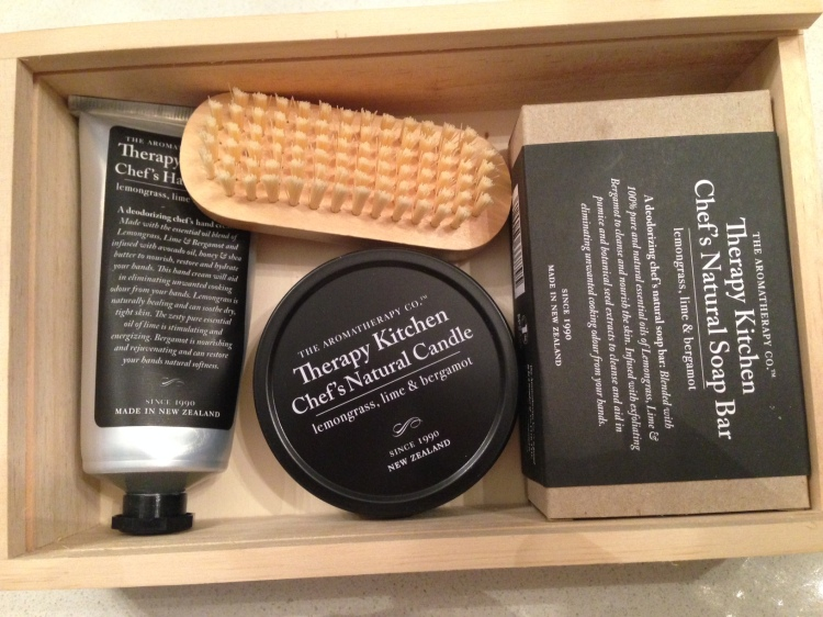The Aromatherapy Co Therapy Kitchen Chef's Gift Set