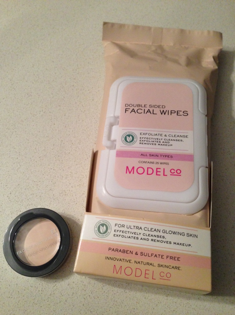 ModelCo Double Sided Facial Wipes