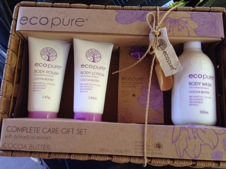 Cruelty-free Christmas Gift Pack Eco Pure
