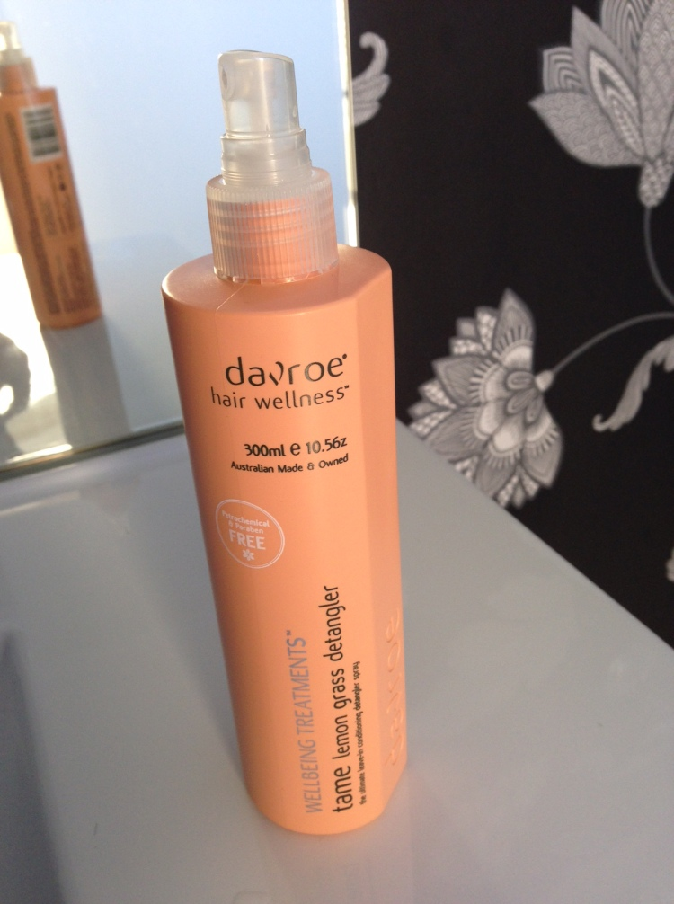 Davroe Tame Lemon Grass Detangler