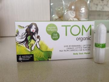 TOM Organic Tampons