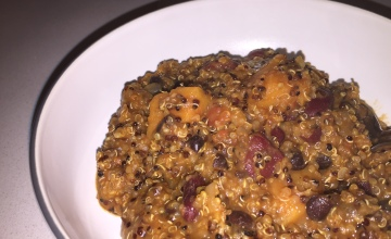 Sweet potato and quinoa chilli recipe