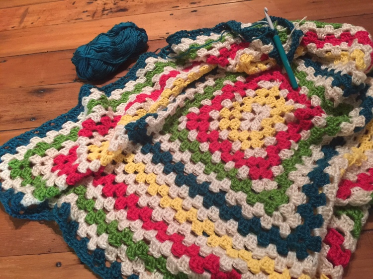Crochet for relaxation