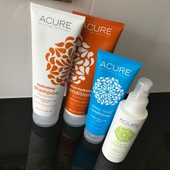 Acure hair care